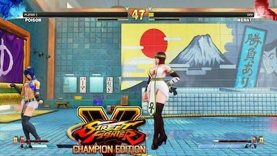 Street Fighter V CE Poison vs Menat PC Mod