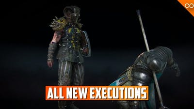 For Honor ALL New Marching Fire Executions - Season 8 Executions