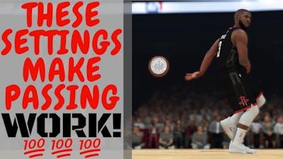 NBA 2K19 : Best Passing Settings!! Tested & Proven Passing Sliders [Controller Settings Tutorial]