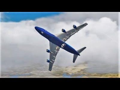 Clueless 747 Pilot Crashes MULTIPLE Times (FSX Multiplayer Trolling)