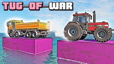 What the most powerful tug-of-war vehicle in BeamNG Drive? #1