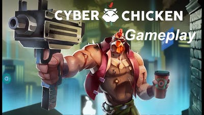 A CHICKEN WHO'S A CYBORG | Cyber Chicken | Gameplay
