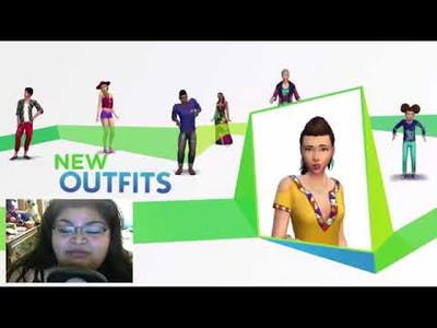 Star Reacts to The Sims 4 Movie Hangout Stuff Trailer