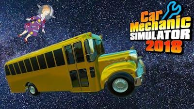 The Magic School Bus | Miss Frizzle Party Bus | Car Mechanic Simulator 2018