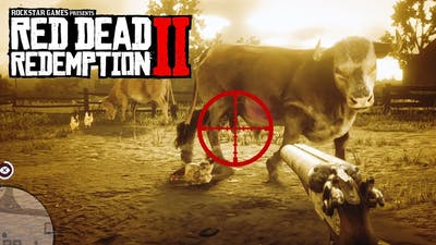 Can You Shoot Off Bull's Balls? - Red Dead Redemption 2