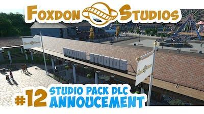 Planet Coaster Foxdon Studios #12 | STUDIO PACK DLC ANOUNCEMENT