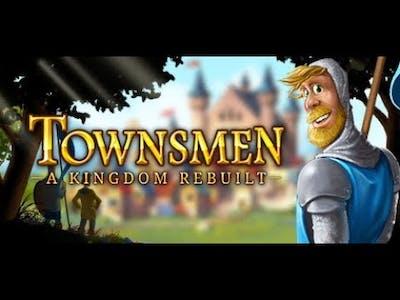 Townsmen - A Kingdom Rebuilt Gameplay   PC Game Walkthrough