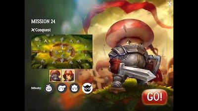 Mushroom Wars 2 - Mission 24