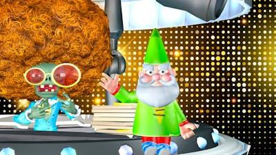 Gnome VS Olds Cool Boss in Plants vs Zombies Battle for Neighborville