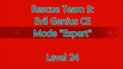 Rescue Team 9: Evil Genius CE Level 24