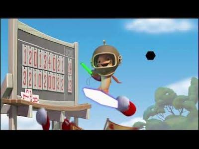 Chicken Little UK DVD (2006) Where's Fish Trivia Game