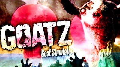 GOATZ - WIPEOUT WITH ZOMBIES!  - Goat Simulator DLC Gameplay