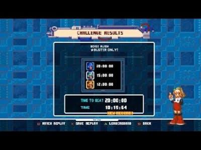 Mega Man Legacy Collection 2 MM8 Boss Rush No Items