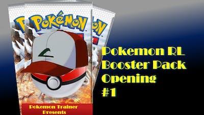 Pokemon Trading Cards Blister Pack #1