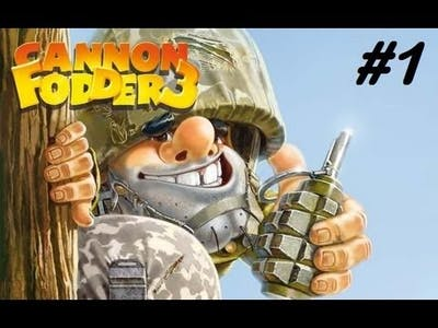 Cannon Fodder 3 w/Dylan Ep.1 - In Line Soldier