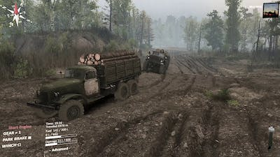Spintires Chernobyl DLC - Sometimes you want to be inside the game