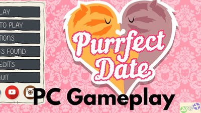 Purrfect Date PC Gameplay 1080p | Meowed