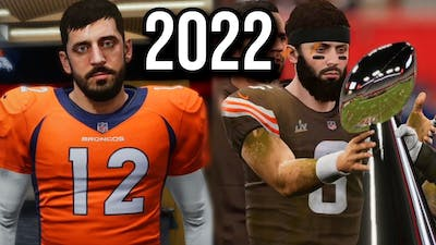 Next NFL Season but its predicted by Madden
