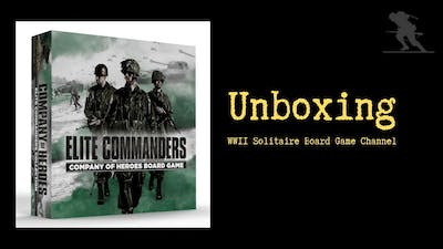 Company of Heroes: Elite Commanders Collection - Unboxing