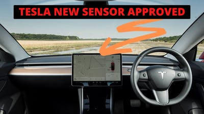 Tesla New Sensor APPROVED by FCC (GAME CHANGER)!