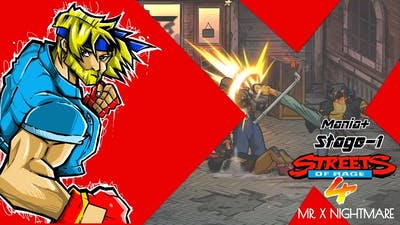 Streets of Rage 4 - Stage #1: Axel Stone (Mania+)