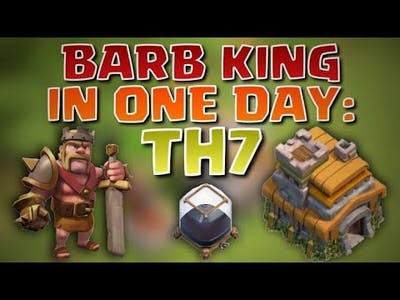 HOW TO UNLOCK BARBARIAN KING EASILY 1 CLICK || GAMING BOY'S