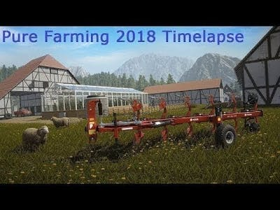 Pure Farming 2018 Timelapse #11: Preparing for the Turnover.