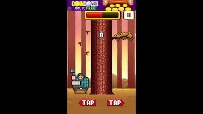 Timberman Gameplay! (Rage-ish Game)