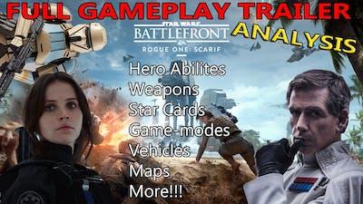 Star Wars Battlefront - Rogue One DLC: Full Trailer Analysis