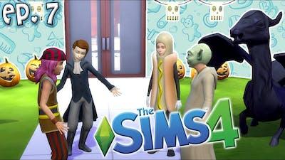Halloween Party & VIDCON?! - The Sims 4: Raising YouTubers Miniseries - Ep 7