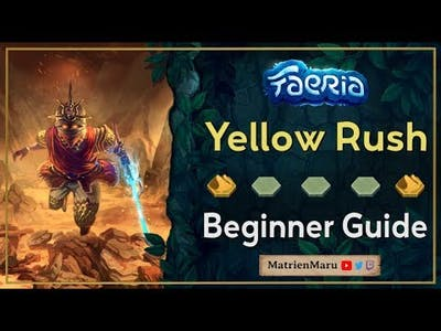 Faeria   Beginner Yellow Rush   Guide & Gameplay