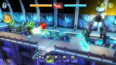 Alien Hallway Gameplay PC