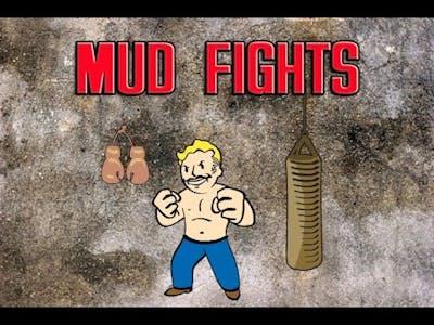 FALLOUT 4 - Wasteland Workshop DLC Mudfighting