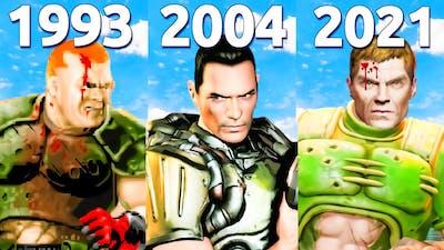 All Endings in DOOM Games (1993 - 2021)