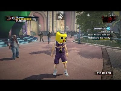Dead Rising 2: Off The Record beating chuck Green