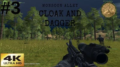 Delta Force Xtreme 2 | Classic Games In 4K | Monsoon Alley | Cloak and Dagger | Mission 3