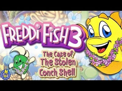 Freddi Fish 3 The Case of The Stolen Conch Shell Gameplay #1 Uncle Blenny in JAIL?