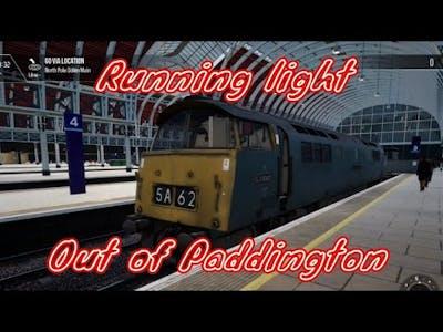 Running light out of Paddington - Train Sim World 2