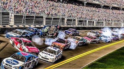 Crash-Filled 500! | NASCAR Heat Evolution