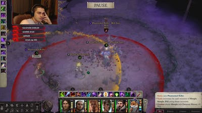 Pathfinder: WotR - Maugla Boss Fight - Hard Difficulty - Lost Chapel map