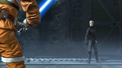 Star Wars: The Force Unleashed: Ultimate Sith Edition - Dark Side Luke vs. Luke