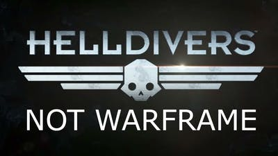 This is just a copy of warframe so far | HELLDIVERS