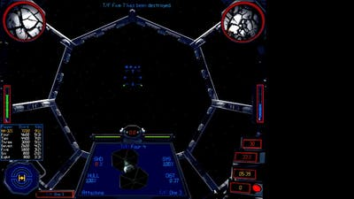 X Wing vs TIE Fighter FFA gameplay