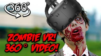 """FIGHT TO THE DEATH   Zombie VR Game 360° Video   """"Last Stand"""" Pt 2"""