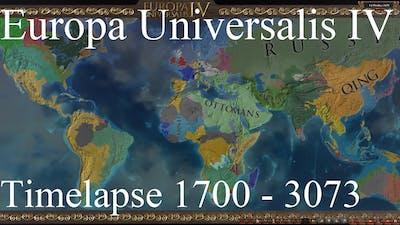 EU4 Timelapse #95 1700 - 3073