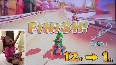 Mario Kart 8 Deluxe!!! Super Fun! Wuhooo!