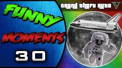GTA 5: San Andreas Flight School DLC Update, Moon Mission Skit, 3rd Nipple (Comedy Gaming)